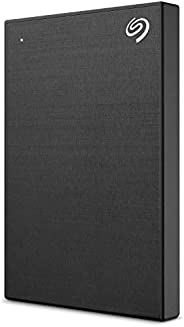 Seagate Backup Plus Slim 1TB External Hard Drive Portable HDD – Black USB 3.0 for PC Laptop and Mac- (STHN1000