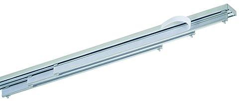 mydeco 61687 Flächenvorhang-System, 3-läufig, 260 cm,