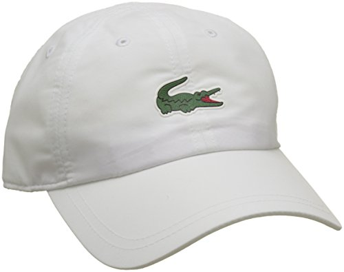 Lacoste Sport Herren RK2464 Baseball Cap, Weiß (Blanc 001), One Size