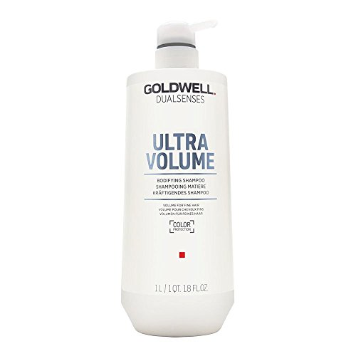 Goldwell Dualsenses Ultra Volume Bodifying Shampoo, 1er Pack (1 x 1 l) - Body-shampoo Conditioner