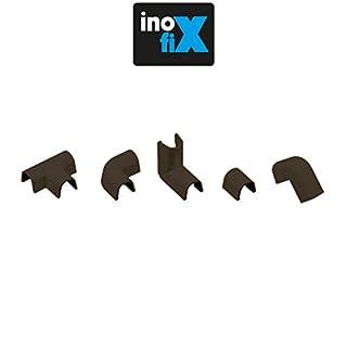 Raccords pour câbles canal-cablefix 1,5 (L)x 1,2cm (H)