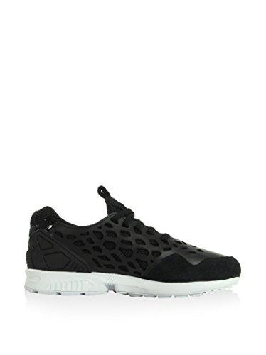 adidas Zx Flux Lace, Sneakers Basses femme noir/blanc