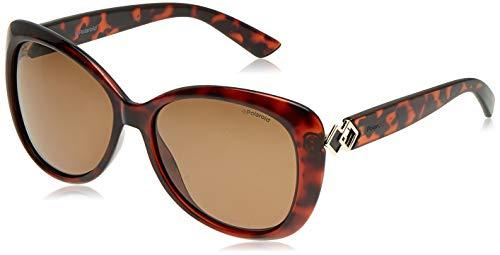 Polaroid - pld 4050/s - occhiali da sole donna occhi di gatto - polarizzati - materiale leggero - 100% uv400 protezione - custodia protettiva inclusa