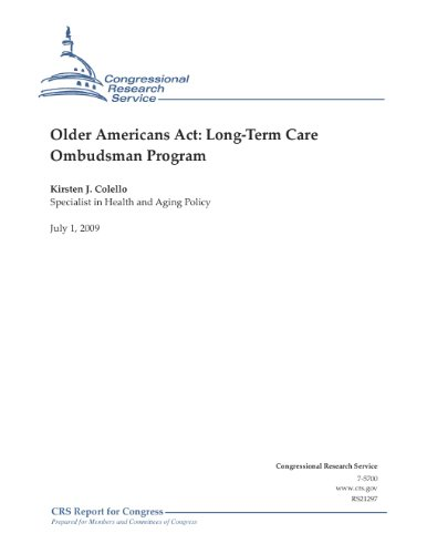 Older Americans Act: Long-Term Care Ombudsman Program