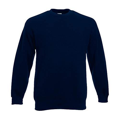 Fruit of the Loom - Sweatshirt \'Set-In\' M,deep navy M,Deep Navy