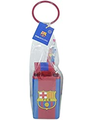 Set scolaire en pot FCB - Collection officielle FC BARCELONE