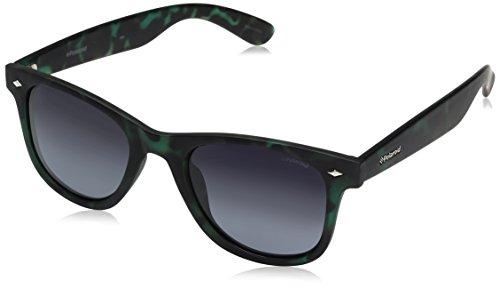 Polaroid Unisex-Erwachsene PLD 6009/N M WJ SED Sonnenbrille, Grün (Havana Green/Grey Sf Pz), 50