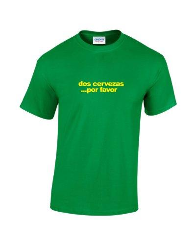 dos-cervezas-divertido-camiseta