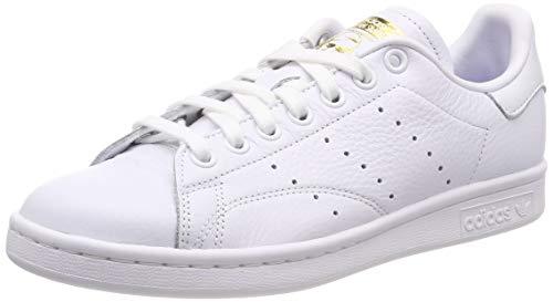 size 40 1c37f 817af adidas Stan Smith W, Zapatillas de Gimnasia para Mujer, Blanco FTWR  White Real