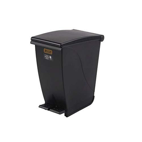 CCJW Mülleimer, 20L Mülleimer, Kunststoff-Recyclingbehälter Tretmüll Mülleimer Glas, Papier, Kunststoff, Dosen, Gartenabfälle und Kompost Küchen-Papierkorb - Kompost-elektrisch