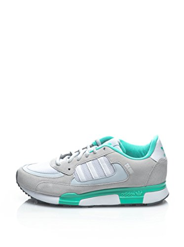 adidas Originals Zx 850 W, Baskets mode femme Gris/blanc/vert
