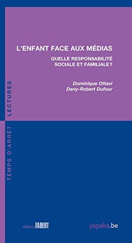 Enfant face aux médias : Quelle responsabilité sociale et familiale ?