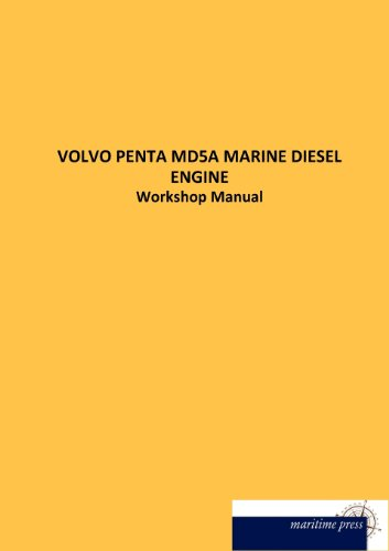 VOLVO PENTA MD5A MARINE DIESEL ENGINE: Workshop Manual