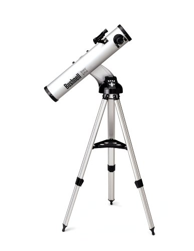 BUSHNELL NORTH STAR GOTO REFLECTOR - TELESCOPIO  76 MM X 700 MM  MOTORIZADO  GRIS