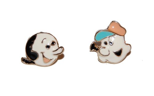 mismatched-popeye-and-olive-enamel-stud-earrings-supplied-in-a-gift-pouch