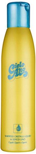 Cielo Alto Shampoo Cristalli Liquidi ai Semi di Lino - 3 Confezioni da 500 ml - Totale: 1500 ml