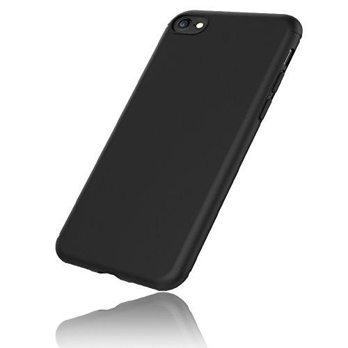 EasyAcc iPhone 7 Hülle Case, Schwarz TPU Telefonhülle Matte Oberfläche Handyhülle Schutzhülle Schmaler Telefonschutz für das iPhone 7 4.7''