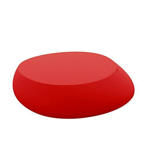 Vondom Stone Table Basse pour l'extérieur Rouge