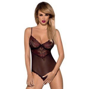 Damenbody Ouvert Musca von Obsessive (S/M)