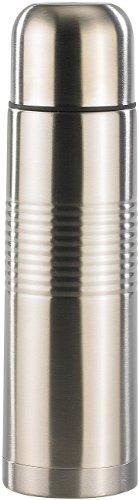 Rosenstein & Söhne Thermokanne: Edelstahl-Isolierflasche mit Becher 0,5 Liter (Design-Isolierflasche)