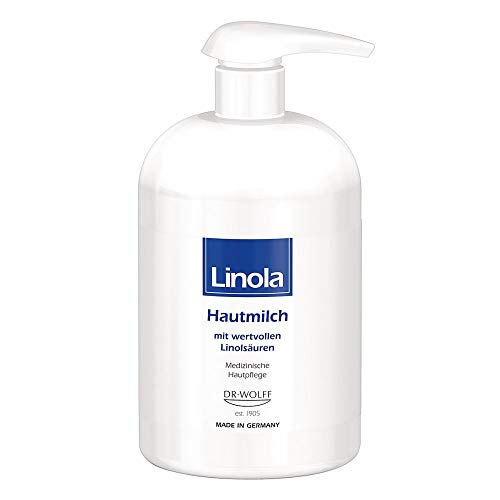 Linola Hautmilch Spenderflasche
