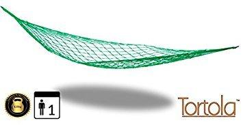 Preisvergleich Produktbild Tortola Nylon Mesh Garten leicht Reisen Hängematte Geschenkidee 2 m x 80 cm