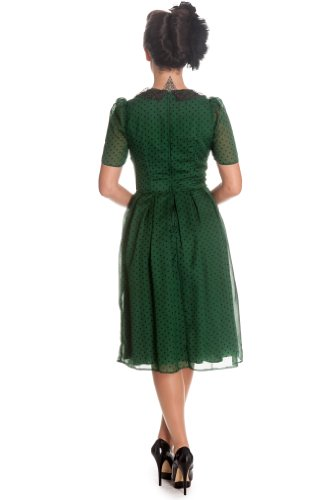 Hell Bunny Kleid CYNTHIA DRESS Green