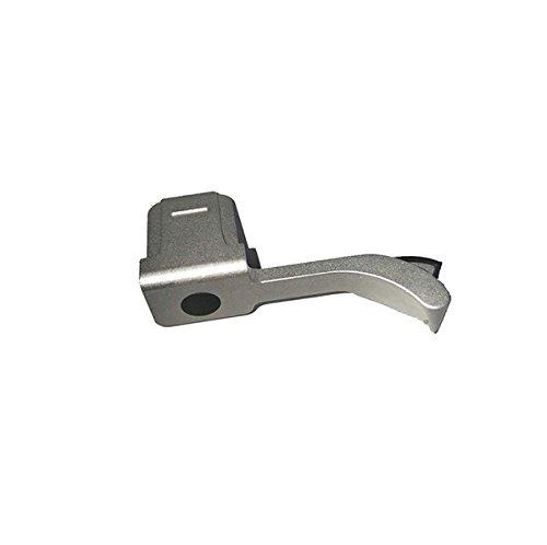 EWOOP Daumengriff für Leica M / M-P / M240, Typ 240 / M246 / Typ 246 / M-D / M262 / M240P, für bessere Balance und Griffigkeit, aus Silbermetall