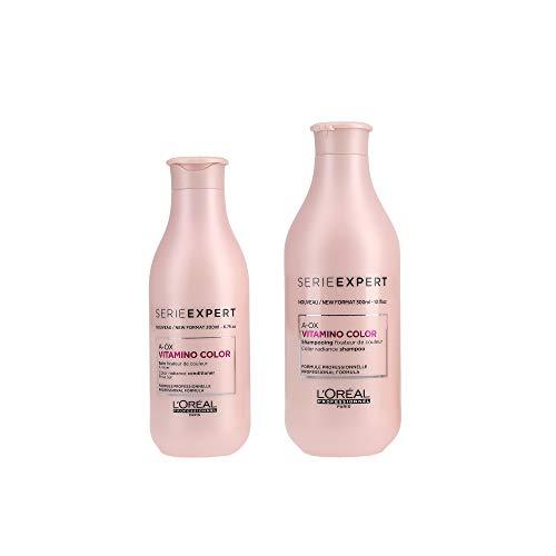 L 'Oreal Serie Expert Vitamino Color a-ox Shampoo 300ml Und Conditioner 200ml -