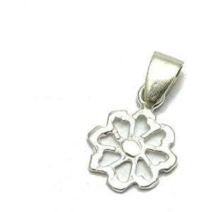 Silber Anhänger Blume 925 Empress jewellery