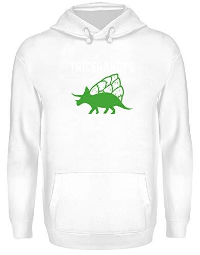 Generic Tricerahops - Triceratops Mit Hopfen Auf Dem Rücken - Unisex Kapuzenpullover Hoodie