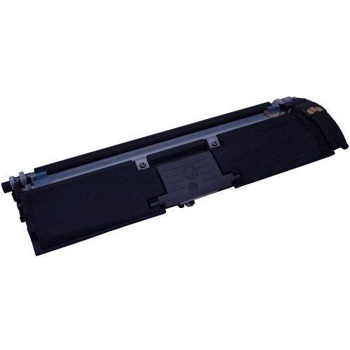 High Quality Eurotone Toner Cartridge BLACK für Konica Minolta Magicolor 2400 2430 2450 2480 2490 + 2500 2530 2550 2590 (QMS 2400/2500 Serie) Schwarz (Konica 2550 Minolta)