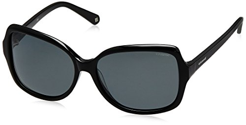 Polaroid femme P8343 Ix Kih 59 Montures de lunettes, Noir (Black/Grey)