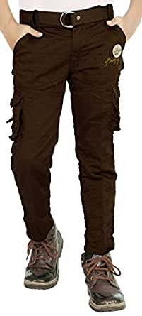 ADBUCKS Boys' Regular Fit Cargos