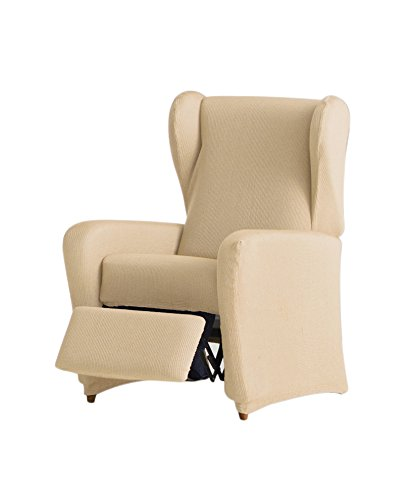 Eysa italia ulises copripoltrona elastico relax, beige, 60 x 90 cm