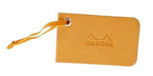 Rhodia 118151C ePure Reisetasche (klein, 45 x 27 x 19,5 cm) schwarz orange