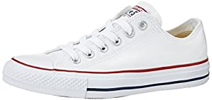 CONVERSE Chuck Taylor All Star Seasonal Ox, Unisex-Erwachsene Sneakers, Weiß (optical white), 39.5 EU