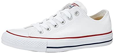 Converse Chuck Taylor All Star Sneakers, Unisex - adulto, Bianco (Optical White), 35
