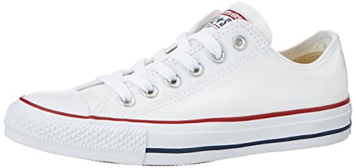 Converse Chuck Taylor All Star Ox, Zapatillas de Lona, Unisex, Blanco (Optical White), 38