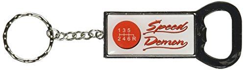 Grafiken und mehr Ring Bottlecap Öffner Schlüssel Kette, 6Shift Speed Demon (kk0513) - Shift Ring