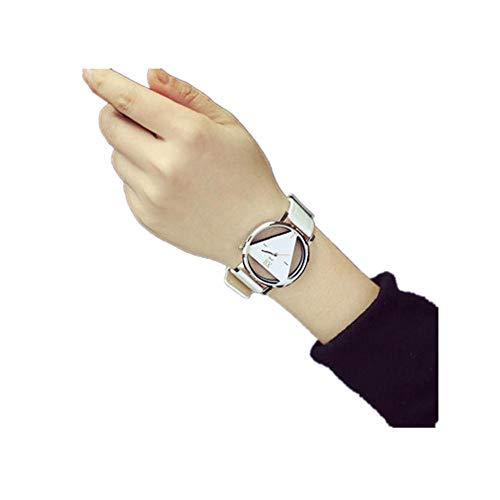 Precioul Damenmode einfache digitale Marmor Zifferblatt Zifferblatt Quarz weibliche Uhr qualitativ hochwertige Geringes Gewicht Ultradünne Tragekomfort Armband Schmuck -