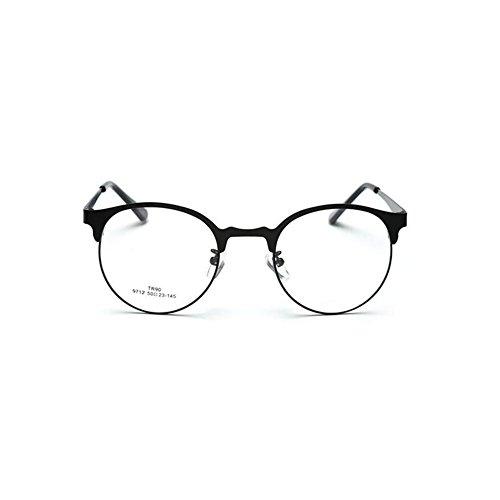 Zhuhaixmy Korean Vintage Round Frame Clear Lens Eyewear Optical Spectacles Unisex Glasses Unisex Männer Dame Optisch Brillen