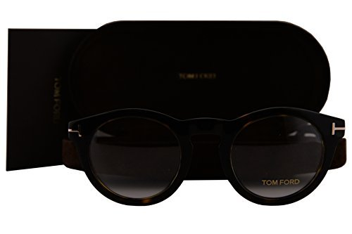 Tom Ford FT5459 Brillen 48-24-145 Dunkel Havana Mit Demonstrationsgläsern 052 TF5459 TF 5459 FT 5459