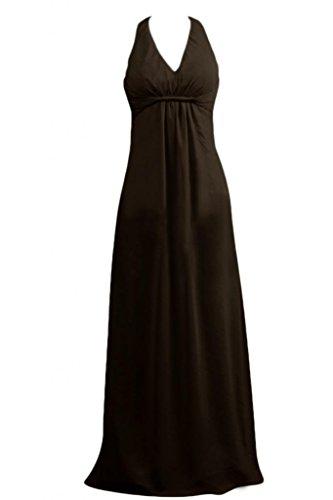 Sunvary Una spalla a mezza manica, decorazioni Prom Gowns Importato da Regno Unito] Nero
