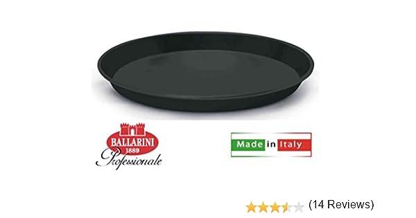 Nero 20 cm Ballarini Professionale 3054 Teglia Tonda Bassa Per Pizza Acciaio