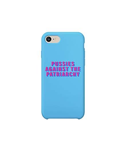 Pussies Against The Patriarchy Feminism_003099 iPhone 6 7 8 X Plus Plus Phone Case Cover Estuche para Funda de Teléfono De Carcasa Casco Protector Plástico Duro Divertido