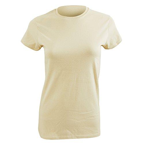 T-shirt à manches courtes Gildan pour femme Sable