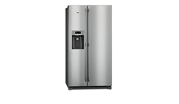 Amerikanischer Kühlschrank Aeg : Aeg rmb nx stand alone l a grau edelstahl kühlschrank