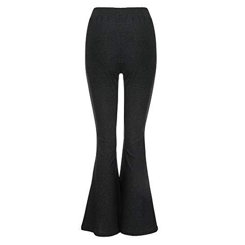 7b02311621ad Rwwdah-- Pantaloni Pigiama Lunghi Donna Pantalone Largo,Pantaloni Yoga da  Donna Elastici Largo