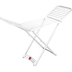 Vileda séchoir Solar - séchoir intérieur et extérieur sur pieds en résine - 20m de capacité de séchage - ref 157217